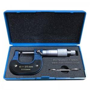 Микрометр гладкий МК-25 (0-25) 0,01 (импорт)
