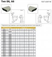 Твердосплавна пластина 06030 ВК8 (права)