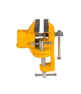 Тиски слесарные 40 мм, поворотные мини (Mastertool 07-0200)