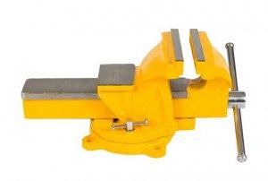 Тиски слесарные 125 мм, поворотные (Mastertool, 07-0212)