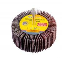 Круг шліфувальний пелюстковий Р40, 80*30 мм зі стержнем 6 мм (Mastertool, 08-2284)