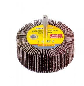 Круг шліфувальний пелюстковий Р80, 80*30 мм зі стержнем 6 мм (Mastertool, 08-2288)