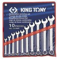 Набор ключей комбинированных 10 шт. 8-24 мм (KING TONY, 1210MR)