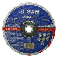 Круг отрезной 230x1,8x22 по металлу и нержавеющей стали S&R Meister A 30 S BF