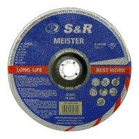 Круг зачистной 230x6,0x22,2 по металлу S&R Meister A 24 R BF
