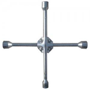 Ключ-крест баллонный, 17 х 19 х 21 х 22 мм, усиленный, толщина 16 мм (MTX Professional, 142449)