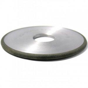 Круг алмазный плоский формы 1FF1 Ф 125х5х5х2,5х32 АС4 100/80 В2-01 100% 50 карат (Полтава)