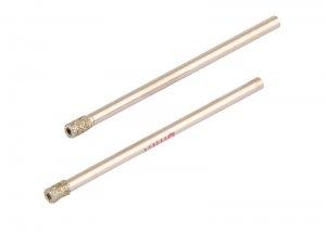 Свердло трубчасте з алмазним напиленням для скла та плитки 3 мм, 2 шт (GRANITE, 2-01-203)