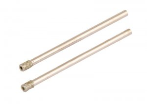 Сверло трубчатое с алмазным напылением для стекла и плитки 4 мм, 2 шт (GRANITE, 2-01-204)