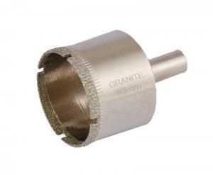 Сверло трубчатое с алмазным напылением для стекла и плитки 40 мм (GRANITE, 2-01-240)