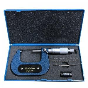 Микрометр гладкий МК-50 (25-50) 0,01 (импорт)
