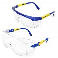Очки защитные с боковой защитой 2 шт. (S&R, 603101002)