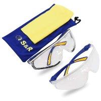 Очки защитные спортивной формы 2 шт. (S&R, 603201002)