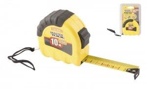 Рулетка 10 м х 25мм, Shiftlock, нейлонове покриття (Mastertool, 62-1025)
