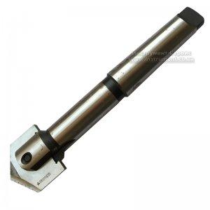 Сверло перовое сборное к/х Ф 40-50 мм (державка для перовой пластины) КМ4 L=240 мм, пластина 40 мм. Р6М5