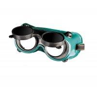 Очки защитные закрытые АДМИРАЛ RD DIN 10 газосварочные откидные (Mastertool, 82-0203)