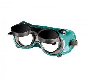 Окуляри захисні закриті АДМІРАЛ RD DIN 10 газозварювальні відкидні (Mastertool, 82-0203)