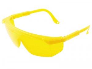Окуляри захисні з регульованими дужками, жовті (Mastertool, 82-0603)