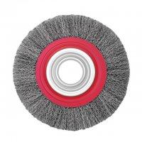 Щітка дискова 200х32 мм, витий дріт (Intertool, BT-6200)