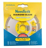 Алмазный круг NovoTools Basic 125 мм*7 мм*22,23 мм Сегмент (DBB125/S)