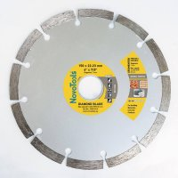Алмазный круг NovoTools Basic 150 мм*7 мм*22,23 мм Плитка (DBB150/S)