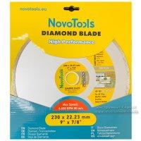 Алмазный круг NovoTools Basic 230 мм*5 мм*22,23 мм Плитка (DBB230/C)