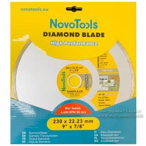 Алмазний круг NovoTools Basic 230 мм*5 мм*22,23 мм Плитка (DBB230/C)
