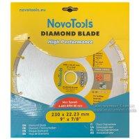 Алмазний круг NovoTools Basic 230 мм*7 мм*22,23 мм Сегмент (DBB230/S)