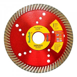 Алмазный круг NovoTools Professional 125 мм*10 мм*22,23 мм Турбо (DBP125/T)