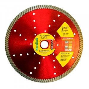 Алмазный круг NovoTools Professional 230 мм*10 мм*22,23 мм Турбо (DBP230/T)