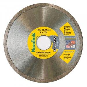 Алмазный круг NovoTools Standart 125 мм*5 мм*22,23 мм Плитка (DBS125/C)