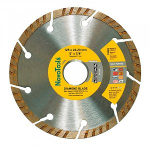 Алмазный круг NovoTools Standart 125 мм*7 мм*22,23 мм Турбо (DBS125/T)