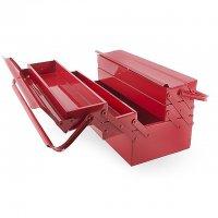 Ящик для інструментів металевий 450мм, 5 секцій (Intertool, HT-5045)
