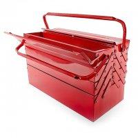Ящик для инструментов металлический 450мм, 7 секций (InterTool, HT-5047)