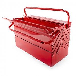 Ящик для інструментів металевий 450мм, 7 секцій (InterTool, HT-5047)