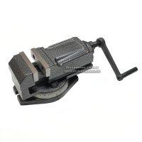 Лещата верстатні з закритим гвинтом поворотні 80 мм, QH80 (IS)