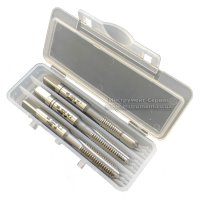 Метчик ручной XXX 060 DIN 352 М 6 х 1,0 комплект 3 шт. 6H HSSE INOX (Bucovice tools, Чехия)