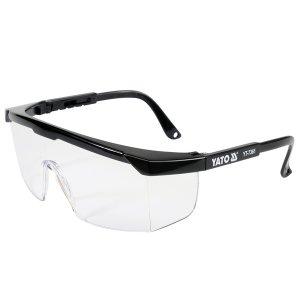 Очки защитные открытые, прозрачные на оправе (YATO, YT-7361)