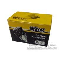 Патрон сверлильный ПС 13 М12*1,25 (Werk, WE110016)