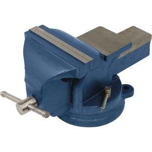 Тиски слесарные 125 мм, поворотные (Miol 36-300)