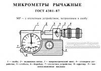 Микрометр рычажный МР-100 (75-100) 0,002 (Ленинград)