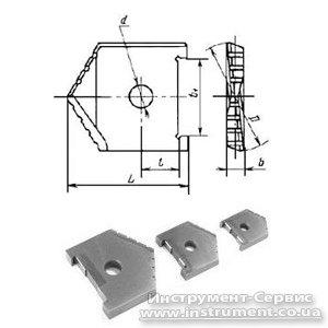 Пластина змінна для перового свердла Ф 40 мм (2000-1223) Р6М5 Орша
