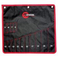 Чохол для гайкових ключів 14 кишень 430мм*430мм (Intertool, BX-9009)