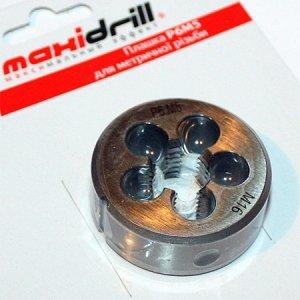 Плашка М 6 (1,0) Р6М5 Maxidrill, 140-026