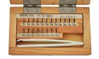 Набір кінцевих мір довжини №10 кл. 2 (Кіров)