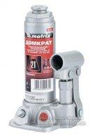 Домкрат гидравлический бутылочный 2 т. h подъема 181-345мм (MTX MASTER, 507159)