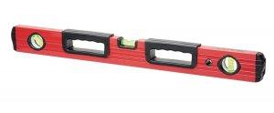Рівень алюмінієвий, 600 мм, фрезерований, 3 вічка, 2 ергономічні ручки (MTX, 332219)