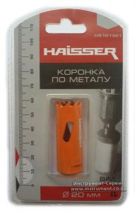 Коронка по металлу 20 мм Bi-metal (Haisser, HS101301)