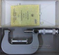 Микрометр гладкий МК- 75 (50-75) 0,01 кл.1 (Калибр, СССР)