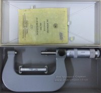 Микрометр гладкий МК-75 0,01 кл.2 (Калибр, СССР)